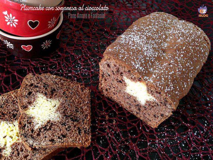 Plumcake con sorpresa al cioccolato   Pane Amore e Fantasia