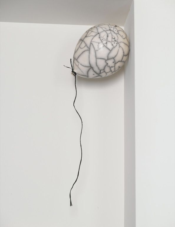 """Saatchi Online Artist: Sivan Sternbach; Ceramic, 2011, Sculpture """"Catch the dream1"""" - what a clever sculpture!  ....HELP ... I'M TRAPPED IN PINTEREST AND I CAN'T GET OUT! (not literally...)"""