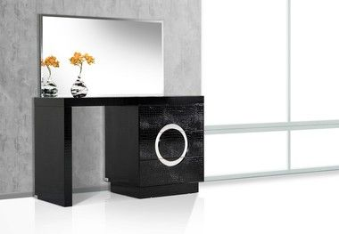 1000 ideas about black vanity table on pinterest vanity tables diy makeup vanity and black - Modern black dressing table ...