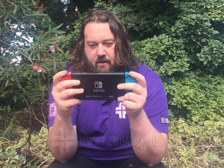 """Nintendo Switch questions answered - """"If I leave the house will I have to interact with other people?"""" No. Play games instead."""