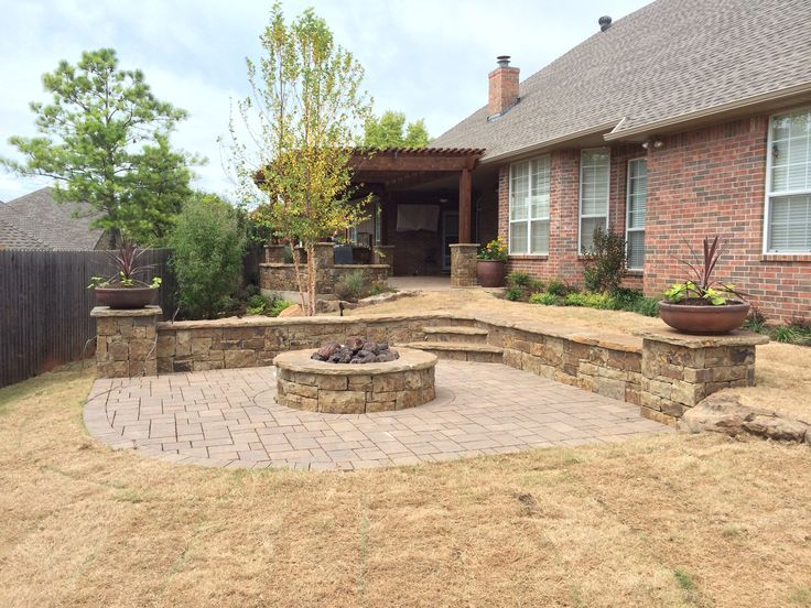 Brand New Firepit And Patio