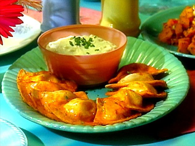 Get Buffalo Pierogis Recipe from Food Network