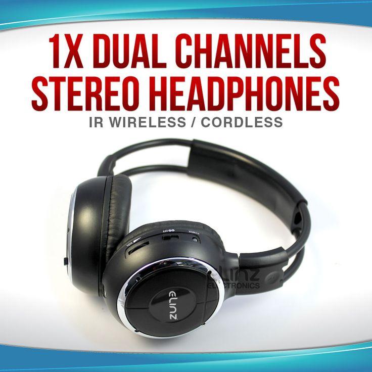 1X Wireless IR Headphone| Headphone|Elinz
