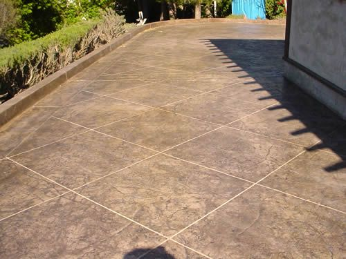 Sandstone Stamped Concrete Stamped Concrete Stamped