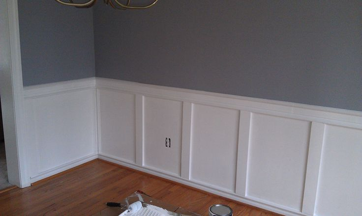 Easy wainscoting future house ideas pinterest for Wainscoting designs dining room
