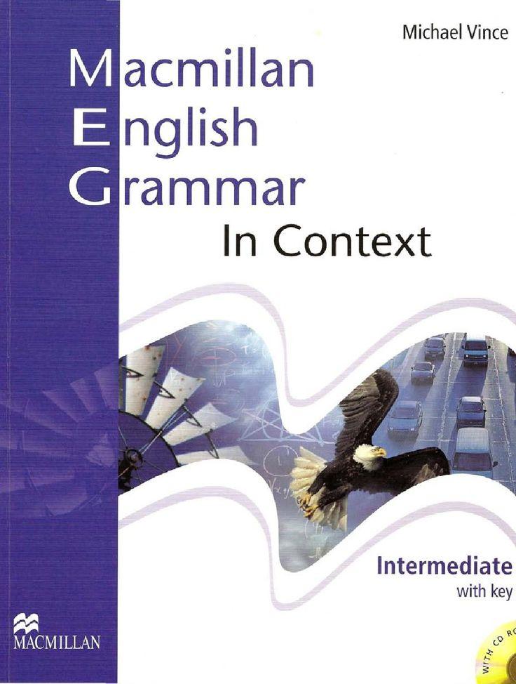 Macmillan english grammar in context intermediate