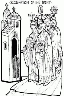 Heres A Coloring Page For Your Children To Print Out And Color Celebrate The Sunday Of Lent OrthodoxyThe Boys Both Brought Their