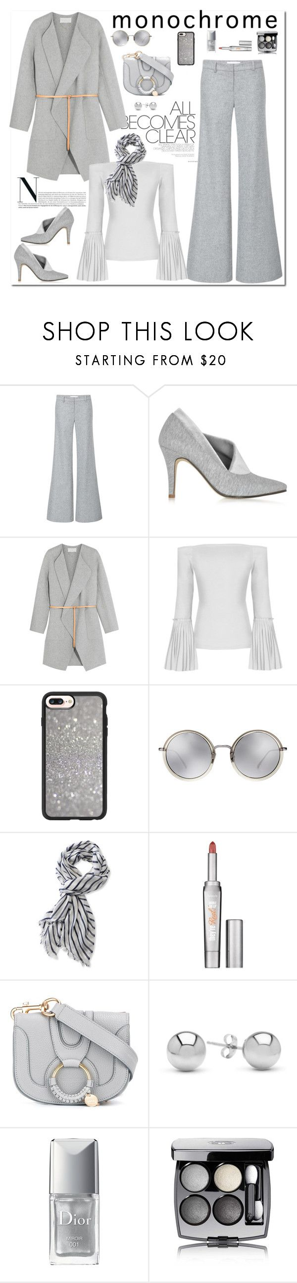 """""""One Color, Head to Toe"""" by ellie366 ❤ liked on Polyvore featuring Millà, Zoe Lee, Vanessa Bruno, Casetify, Linda Farrow, L.L.Bean, Benefit, See by Chloé, Jewelonfire and Christian Dior"""