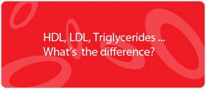 HDL, LDL, Triglycerides...What's the Difference?... HDL (Good) Cholesterol because it helps remove LDL cholesterol from the arteries. Experts believe HDL acts as a scavenger, carrying LDL cholesterol away from the arteries and back to the liver, where it is broken down and passed from the body.