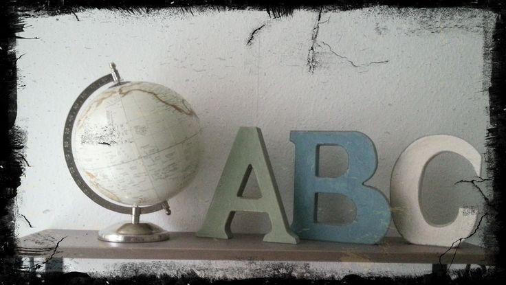 Shabby Dekoration im Kinderzimmer