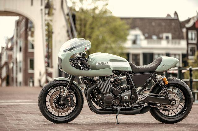 RocketGarage Cafe Racer: NUMBNUT MOTORCYCLES YARD BUILT XJR1300