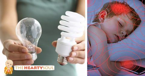 Image of These Light Bulbs Cause Anxiety, Migraines, and Even Cancer. If you…