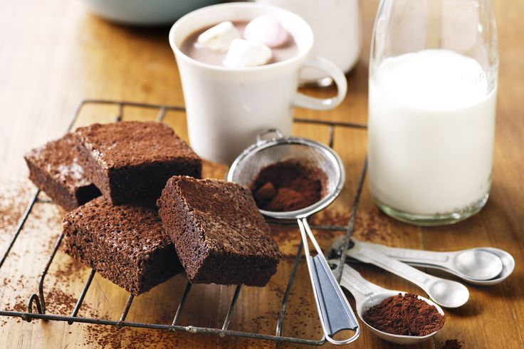 Yummy Chocolate Brownies.  Will be perfect for coffee and cake with the girls....
