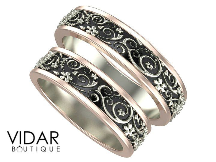 56 best His And Her Matching Wedding Bands images on Pinterest