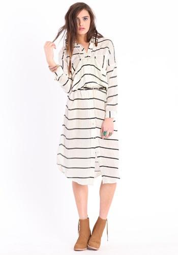 Falling For Stripes Pocket Dress