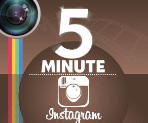 Instagram 5 Minute Marketing Plan Infographic