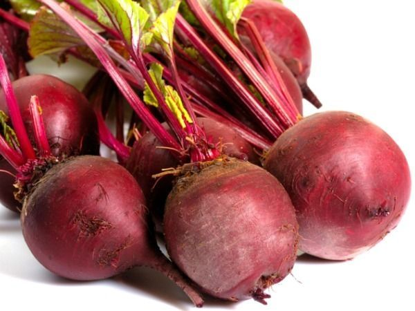 Beets are very low in calories.