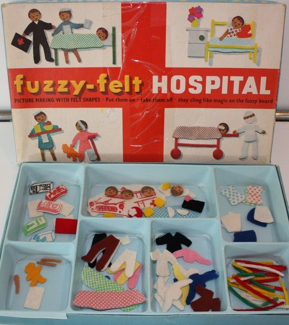 fuzzy felt - I had to search on here for this but I knew you pinners would not let me down, not the new ones, but the wonderful old sets, I'm sure I had this one! off to search for more memories....