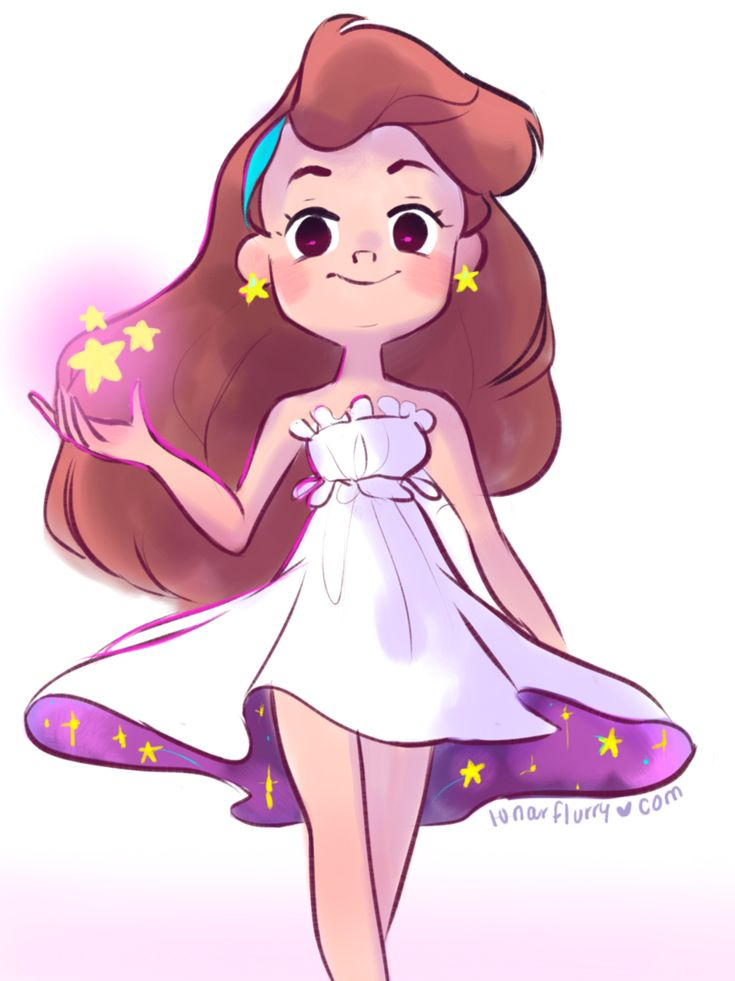 Beautiful AU(?) Mabel!!! Such pretty wow
