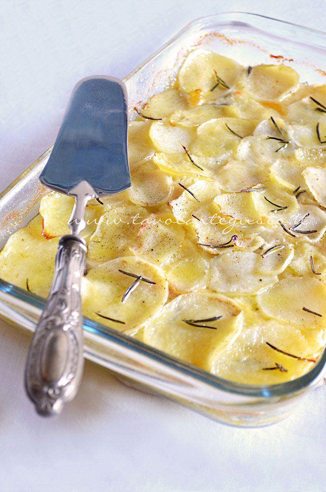 Millefoglie di patate - Ricetta.