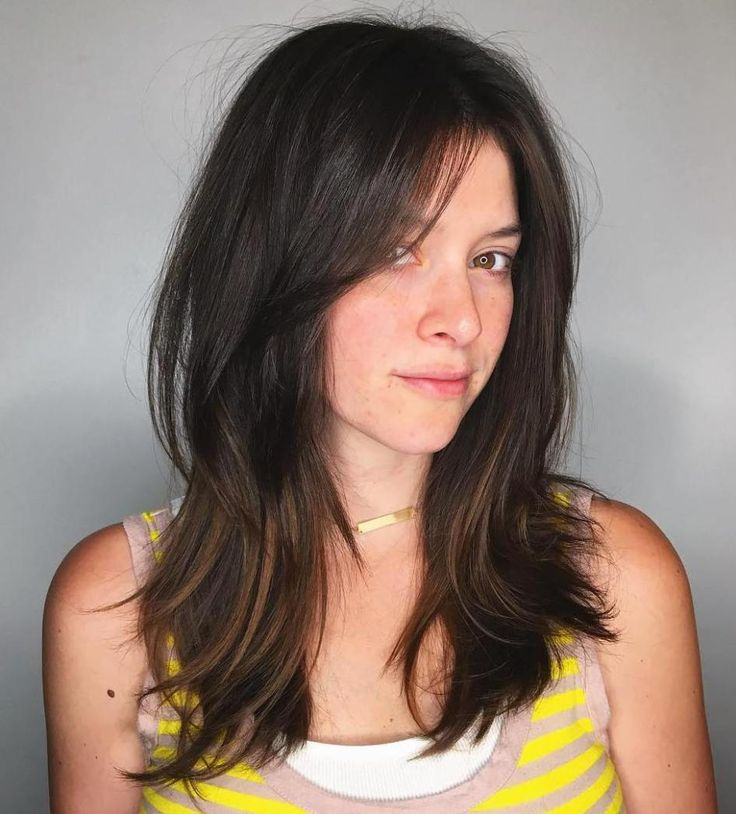 side swept hair style best 20 layered side bangs ideas on 3913