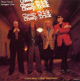 "For Sale - Cheap Trick Can't Stop Fallin' Into Love UK  CD single (CD5 / 5"") - See this and 250,000 other rare & vintage vinyl records, singles, LPs & CDs at http://eil.com"