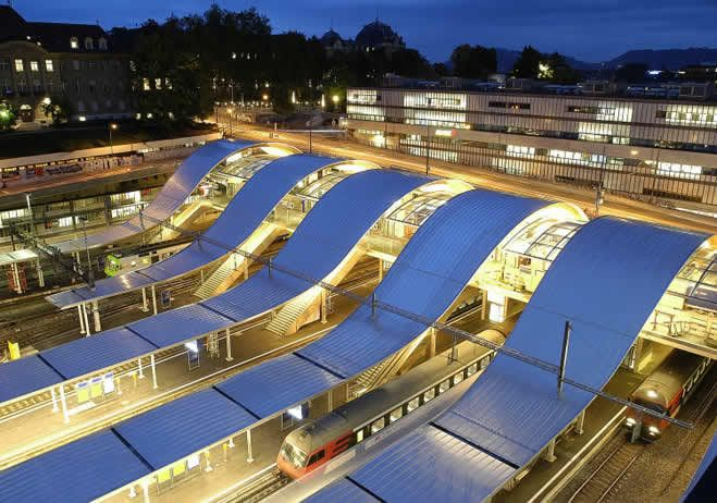 El diseño 'se encarrila' en las estaciones de tren - arquitectura Obrasweb.mx