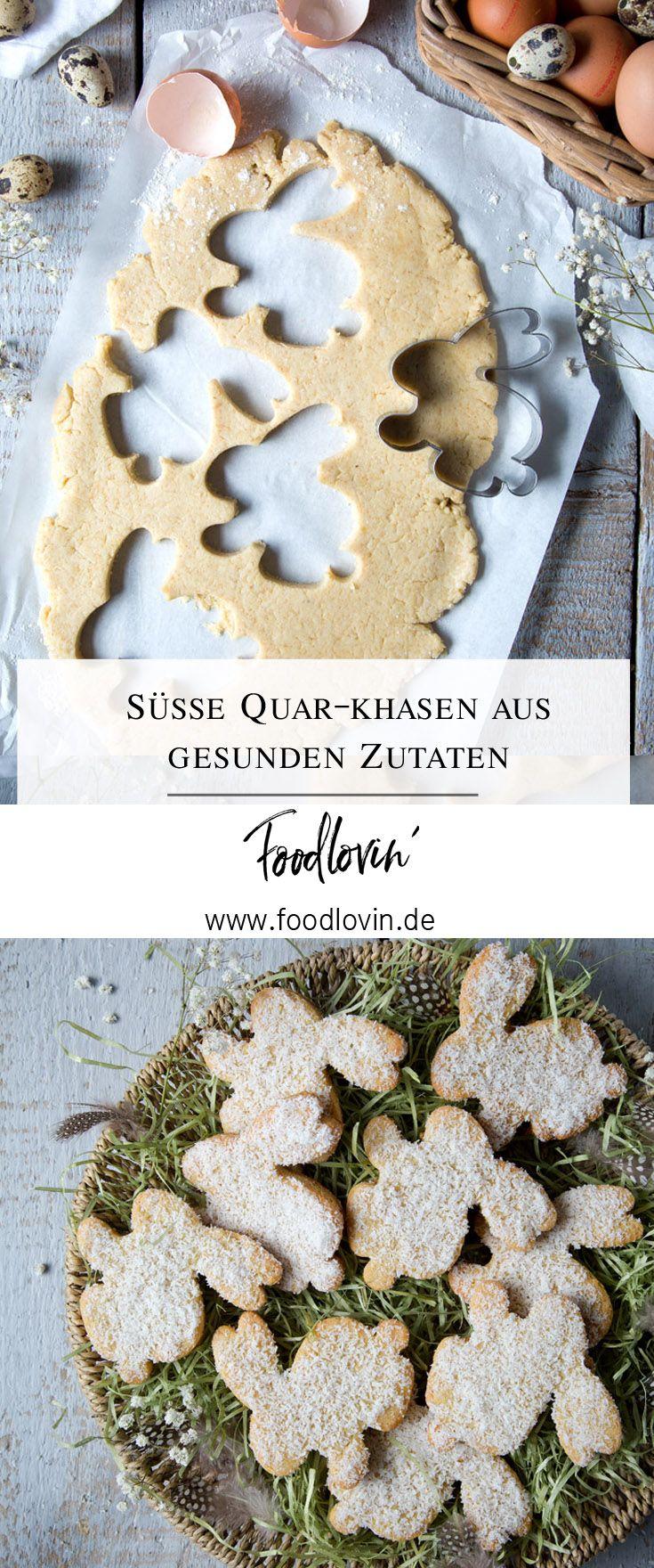 Süße Quarkhasen Zu Ostern Rezept Für Gesunden Quark öl Teig