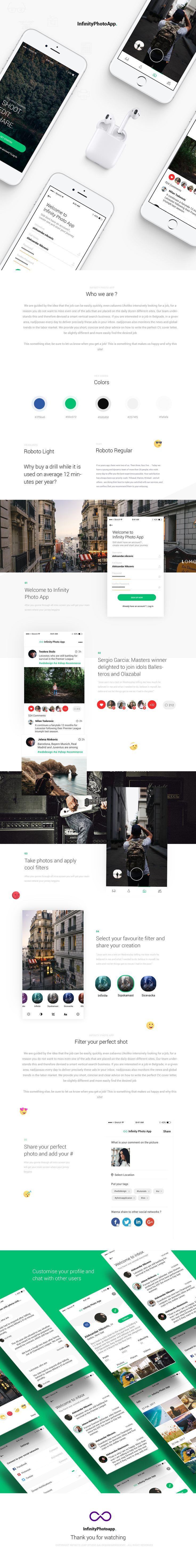 Infinite Photo App - Create image your way on Behance
