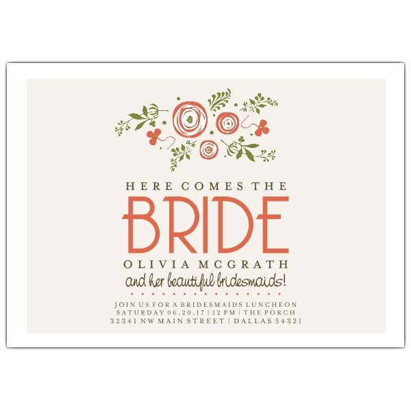 1000+ ideas about Bridal Luncheon Invitations on Pinterest ...