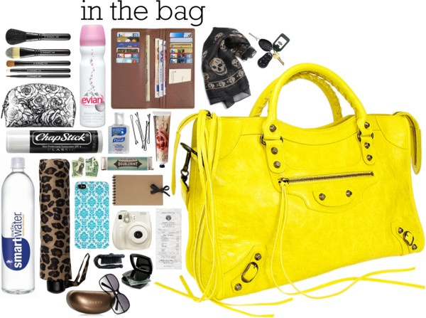 """in my bag."" by camigds45 on Polyvore"