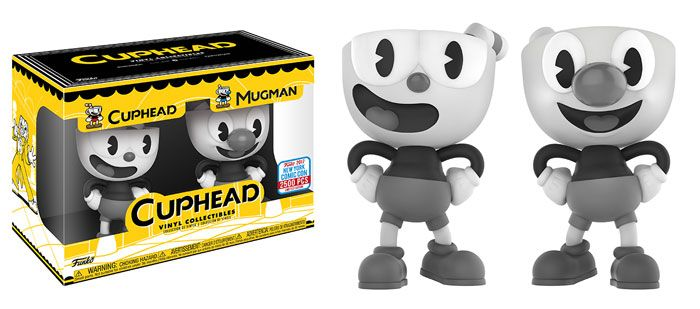 "The run and gun platform side scrolling video game Cuphead is now available exclusively on console for Xbox One, as well as Windows 10 PC, Steam and GOG, and Funko is excited to introduce Cuphead Vinyl figures too! Vinyl Figure: Cuphead   This series features Cuphead and Mugman as they battle to repay debts to the Devil! Each figure stands roughly 4"" tall!The Devil is featured as a 6"" collectable Vinyl figure. Coming November! Vinyl Figure: Cuphead- Cuphead & Mugman (B&W..."