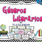 This 16 pack reading genre posters are for use in a bilingual classroom. Display this illustrative signs to teach/ or remind your students of the d...