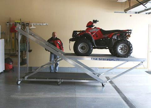 Lift Atv To Loft Google Search Garage Project
