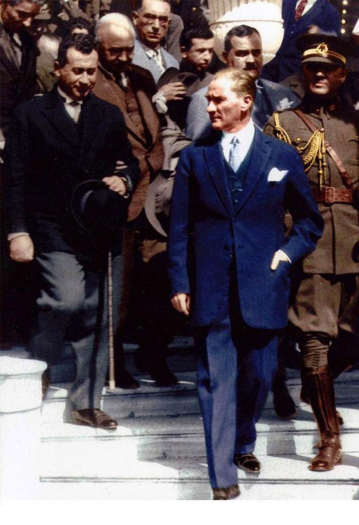 Atatürk'ün Dünyanın En Karizmatik Lideri Olduğunu Kanıtlayan 11 Fotoğraf-a8z58d5omx