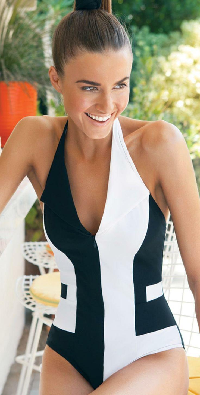 Karla Colletto Swimwear - 2014 'Positive-Negative' Swimsuit. . . http://sulia.com/channel/fashion/f/ee0e6061-23a0-49b1-b247-febd8e7f4131/?source=pin&action=share&btn=small&form_factor=desktop&pinner=125430493