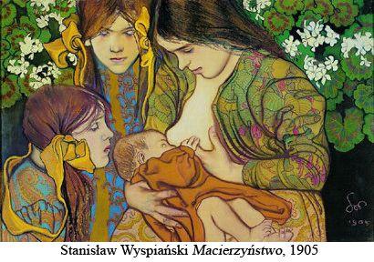 Stanisław Wyspieński 1905 Macierzyństwo/Matherhood