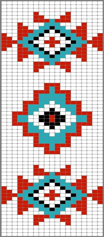 grecas punto de cruz