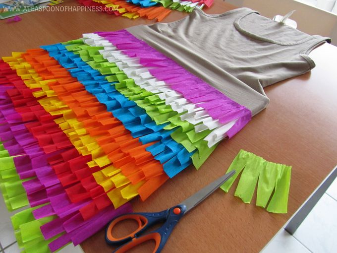 DIY Pinata Costume - A Teaspoon of Happiness