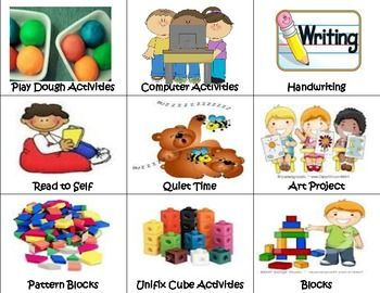 Free 7-page Picture Schedule for Multi-Age Classrooms -- Repinned by @PediaStaff – Please Visit ht.ly/63sNtfor all our pediatric therapy pins