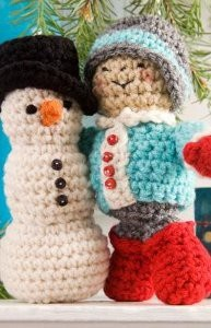 His First Snowman By: Michele Wilcox for Red Heart.: Christmas Crochet, Crochet Ideas, Craft, Free Pattern, Crochet Christmas, Red Heart, Amigurumi Pattern, Snowman, Crochet Patterns