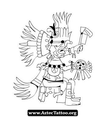 Aztec Tattoos And Their Meaning 04 - http://aztectattoo.org/aztec-tattoos-and-their-meaning-04/