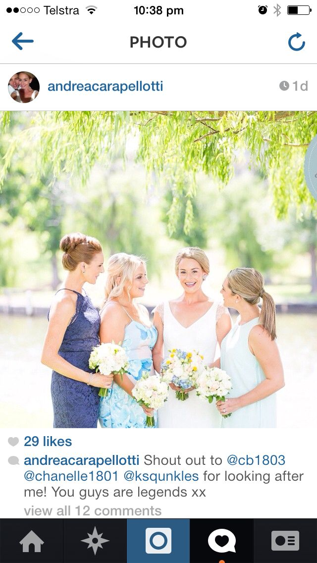 One of our beautiful brides married on the Murray River in Yarrawonga xo