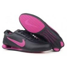 Womens Nike Shox Rivalry Shoes Black Dark Pink