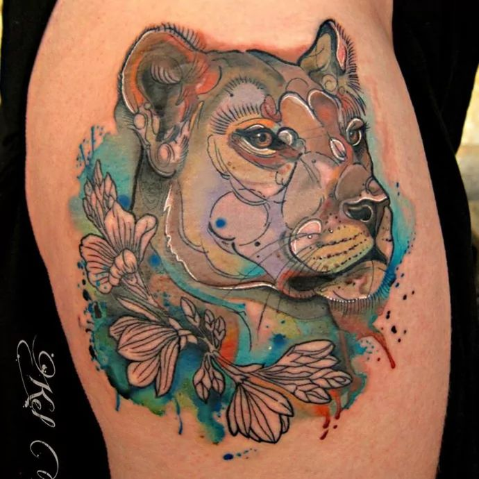 Lioness Tattoos: The 25+ Best Lioness Tattoo Ideas On Pinterest