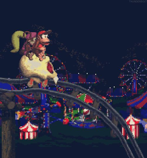 Diddy & Dixie - Donkey Kong Country 2. One of my favorite levels!