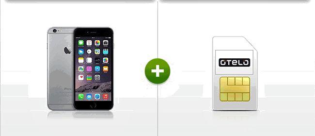 Apple iPhone 6 Plus 64GB mit Vertrag für 1,00 Euro zum Tarif Otelo Allnet-Flat XL Plus im D2 Netz mit 8 GB LTE Internat-Flatrate inklusive EU-Roaming mit 8,28 Euro rechnerische Grundgebühr.