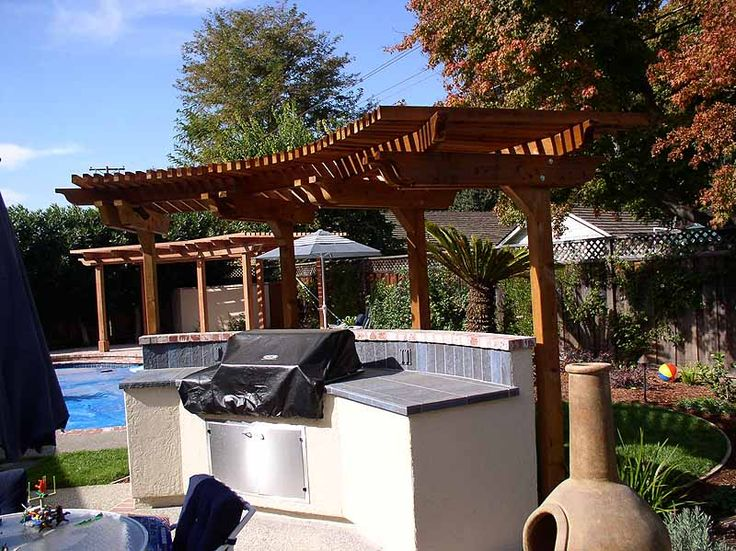 17 Best Images About Bbq Pergola On Pinterest