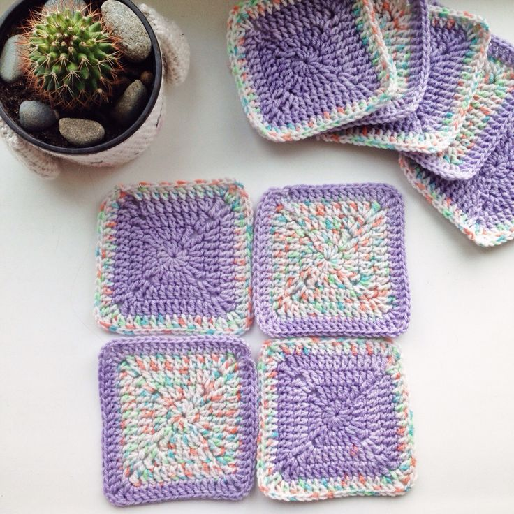 Granny squares | Crocheting