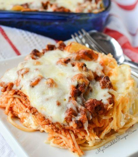 Million Dollar Spaghetti! – My Incredible Recipes